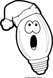 christmas light bulb clip art u2013 101 clip art