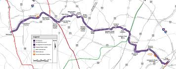 Silver Line Boston Map by Details Emerging On Purple Line Construction Process Bethesda