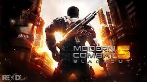 modern combat 5 esports fps 2 9 0k apk mod data for android