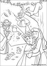 sleeping beauty coloring pages coloring book
