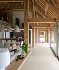 stunning oversized industrial lighting gloucestershire residence