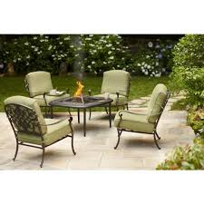 Outdoor Furniture With Fire Pit by Patio Furniture Fire Pit Table Set Fire Pit Ideas