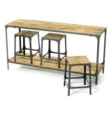 Outdoor Console Table Console Tables Furniture Rustic Industrial Distressed Console