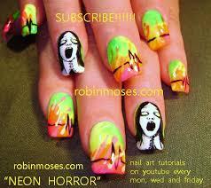 100 halloween scary nails best halloween nail art ideas