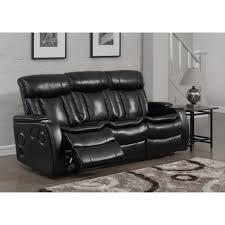 Recliner Sofa Parts Global Furniture Usa 2128 Reclining Sofa Set Printed Microfiber