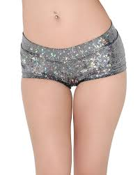 Holographic Clothing For Sale Amazon Com Iheartraves Shiny Hologram Shorts Rave Dance