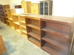 hoppers office furniture used bookcases intended for used wood