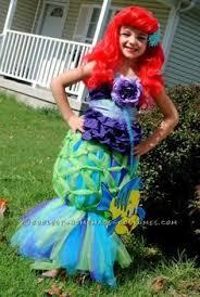 Halloween Costumes Ariel Coolest Ariel Mermaid Halloween Costume Mermaid