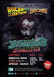 back to the anthems halloween special zombie apocalypse tickets