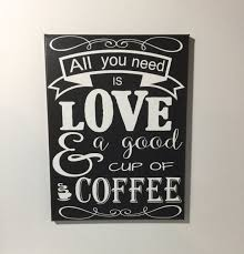 Coffee Themed Wall Decor Kitchen Inspiring Coffee Signs Kitchen Decor Wooden Coffee Signs