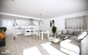 Open Floor Plan Interior Design by Open Concept Home Design Home Design Ideas Befabulousdaily Us