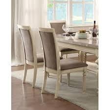 acme united classic contemporary dining room furniture 7pcs set