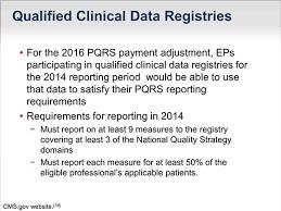 pqrs registries avoiding negative payment adjustments