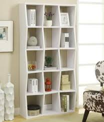 coaster bookcases bookshelf with pull out desk