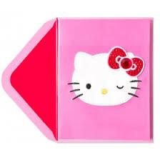 gem hello kitty birthday cards papyrus