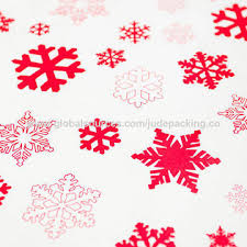 christmas gift wrap paper china christmas gift wrapping white kraft paper with snowflake