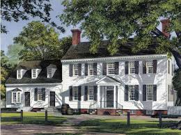 colonial home designs colonial style house plans delightful 6 georgian home plans at