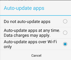 how to update apps android android how to configure the auto update settings