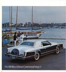 1979 lincoln continental mark v bill blass edition the most