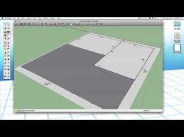 sketchup 24 modeling a floor plan youtube