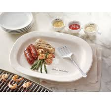 mud pie serving platters mud pie grill master platter set white kitchen dining