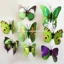 3d butterfly sticker for home wall decoration diy sticker buy