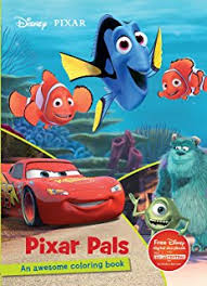 disney pixar adventure coloring jumbo coloring 50 stickers