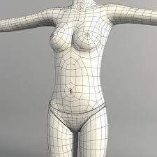 Female Body Reference For 3d Modelling Reference Art For Character Design Art Figure Modeling