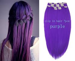 purple hair extensions hair color purple hair extensions synthetic clip in