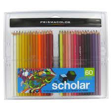 prismacolor scholar colored pencils prismacolor scholar assorted colored pencil set hobby lobby 639567