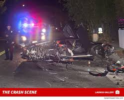 lamborghini car chris brown s lambo totaled in bev tmz com