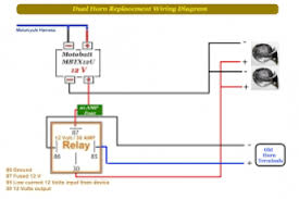 dual horn relay wiring diagram wiring diagram