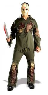 jason costume jason 3d deluxe costume jason voorhess costume with jason mask