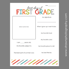 first day of u2013 free printable emily strawn photography