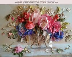 476 best embroidery ribbon 2 images on silk ribbon