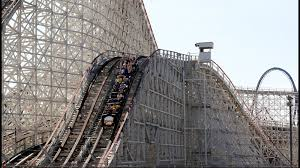Six Flags Pg County Colossus Magic Mountain Fire Best Mountain 2017
