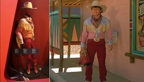 Back To The Future Costume Marty Mcfly Michael J Fox Original Cowboy Costume From Back To