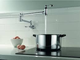 kitchen modern kitchen decor with touchless kitchen faucet idea