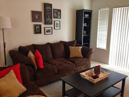 living room mesmerizing red and brown living room ideas brown and