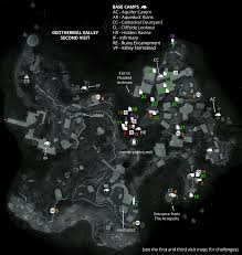 Space Debris Map Geothermal Valley Pit Of Judgment Challenge Tomb Rise Of The