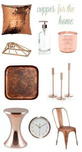 Copper Decor Accents | copper accents are on trend for fall and a gorgeous choice for the