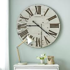 large wall clock with separate numbers large digital wall clock