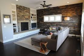 home interior accents favorable brick and living room accent wall added l