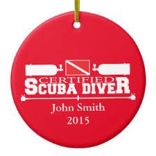 scuba diving ornaments keepsake ornaments zazzle