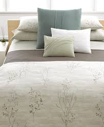 calvin klein home briar queen duvet cover bedding collections