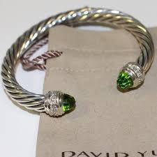 make diamond bracelet images David yurman jewelry cable peridot diamond bracelet 7mm poshmark jpeg