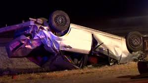 couple ejected from car suffer serious injuries in rollover