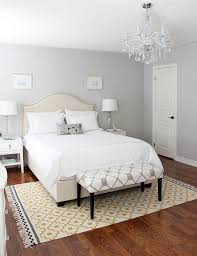 Grey Paint Bedroom | a light gray shade will give your bedroom a romantic classic feel