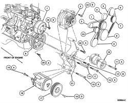 3 8 v6 mustang engine diagram for 1997 mustang 3 8 serpentine belt fixya
