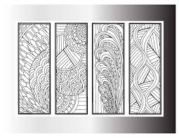 diy bookmarks printable coloring page coloring pages